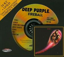 *SEALED AUDIO FIDELITY CD - DEEP PURPLE - FIREBALL # 3286