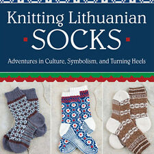 NEW DVD: KNITTING LITHUANIAN SOCKS Adventures in Culture Symbolism Turning Heels