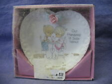 Precious Moments Plate - Our Friendship is Soda-Licious 132144