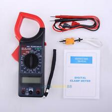 1PCS DT266C Handheld Digital AC Voltage Amp Resistance Clamp on Meter Multimeter