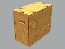 Panzer Art 1/35 US Ammunition Boxes .303 Caliber Ammo (Wooden Pattern) RE35-378