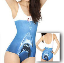 JAWS & THE LITTLE MERMAID Ladies Swimsuit Swimming Costume Swimwear