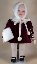 Knowles Jennifer Girl Porcelain Doll 14 Inch Yolanda's Picture Perfect Babies
