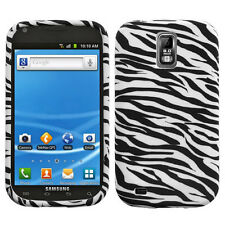 For T-Mobile Samsung Galaxy S II 2 T989 TPU CANDY Flexi Skin Case Cover Zebra