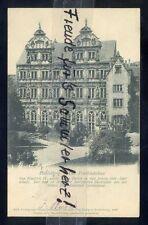 544 N Sehr Alte AK Ansichtskarte Heidelberg Der Friedrichsbau Reichspost 1901
