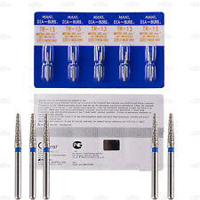 Top 100Pcs Mani Diamond Bur Tooth Drill for Dental High Speed Handpiece 150Types