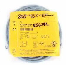 NIB TURCK NI2-G08K-AP6X PROXIMITY SENSOR 10-30VDC, 150MA, 46701, NI2G08KAP6X