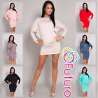 Women's Dress Kimono Style Boat Neck Long Sleeve Ladies Casual 4023