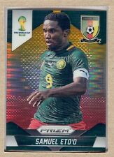 Samuel Eto'O 40 2014 Panini Prizm World Cup Yellow and Red Pulsar