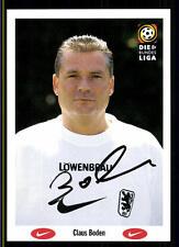 Claus Boden Autogrammkarte TSV 1860 München 1996-97 Original Sign+A 119095
