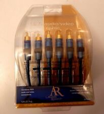 Acoustic Research High Performance Composite Video Stereo Audio AV Cable