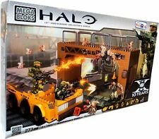 ** HALO Mega Bloks ANNIVERSARY ED. FLOODGATE 96971 NEW SEALED BOX