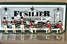 FUSILIER MINIATURES AMERICAN WAR of INDEPENDANCE US MARINES FIRING MINT BOXED my