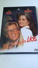 """DVD """"ME GUSTAN LOS LIOS"""" COMO NUEVO NICK NOLTE JULIA ROBERTS CHARLES SHYER"""