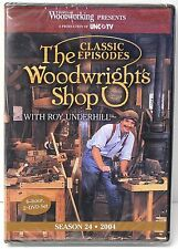 NEW! The Woodwright's Shop with Roy Underhill Season 24 Dvd Set - Wood Working