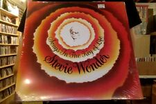 "Stevie Wonder Songs in the Key of Life 2xLP sealed vinyl + 7"" RE reissue"