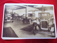 1927 CHEVROLET  NEW CARS IN SHOWROOM    11 X 17  PHOTO   PICTURE