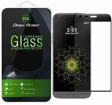 Dmax Armor® LG G5 Tempered Glass Screen Protector Saver [Full Screen Coverage]