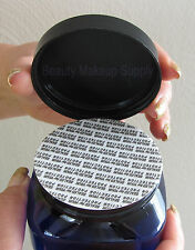 12 Cosmetic Jar Cobalt Square Beauty Container w/ Tamper Proof Sealer 8 oz |9308