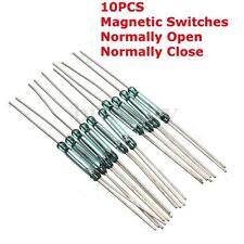 10Pcs Reed Switches Magnetic Switch Induction Switch N/O N/C SPDT 2.5X14MM