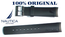 NAUTICA REPLACEMENT BAND BLACK SILVERBUCKLE  A14556 N14536 N17526 A19527 N20065