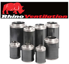 """Rhino Pro Carbon Filter 4 """" Inch 100 mm 300 mm Top Quality Filter"""