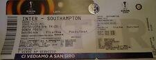 TICKET UEL 2016/17 Inter vs Southampton (written)