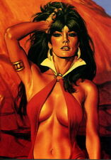 VAMPIRELLA BLOODLUST 1997 COMIC IMAGES PROMO CARD 2 OF 2 MC