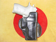 Sig Sauer P 220   paddle holster leather black