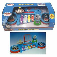 Thomas & Friends Toy Band Station 6 Instruments In 1 Drums Symbols Triangle New