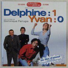 Delphine : 1 Yvan : 0 CD Promo Dominique Farrugia 1996