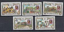Barbados 1991 25 anniversario dell'indipendenza 820-24 MNH