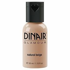 Natural Beige Airbrush Makeup by Dinair - no smearing running fading or caking