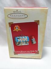 2004 Hallmark Keepsake Ornament Lunch Wagon for Porky Pig Looney Tunes