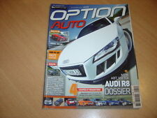 Option auto N°172 Audi R8.C63 AMG Break.Koenigsegg CCXR