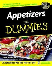 Appetizers for Dummies by Dede Wilson (2002, Paperback)