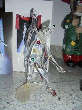 Swarovski Figur große Jahresfigur SCS Pierrot von 1999 mit Zertifikat in OVP
