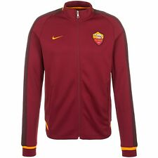 NWT Nike AS Roma 2015 N98 Football Soccer Full Zip Jacket Mens M Rome Italy