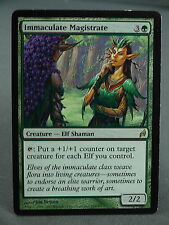 MTG Magic the Gathering Card X1: Immaculate Magistrate - Lorwyn LP