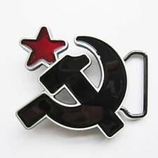 SOVIET HAMMER AND SICKLE URSS CCCP COMMUNIST LOGO RUSSIAN BELT BUCKLE