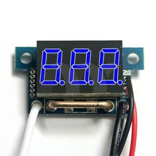 "0.36""  Blue LED Digital DC Ammeter AMP Mini Current Panel Meter DC 0-10A"