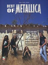 Best Of Metallica Learn to Play Heavy Metal Rock PIANO Guitar PVG Music Book