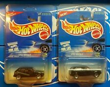 1995 Hot Wheels Blue Card VW Golf #474 Both Black Variations  Fahrvergnugen!