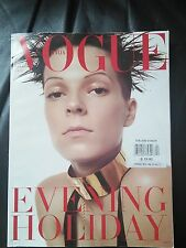 *** VOGUE ITALIA  MAGAZINE December 2000 Steven Meisel COVER