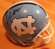 Sylvester Williams Signed North Carolina Mini Helmet AUTO w/ COA Denver Broncos