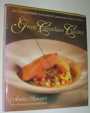 Anita Stewart~GREAT CANADIAN CUISINE~SIGNED 1ST/DJ~NICE COPY