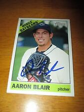 AARON BLAIR Braves Signed 2015 Topps Heritage Minor League card AUTO Autograph