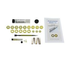 Open Hole Flute Pad Kit for Gemeinhardt flutes w Instructions, Grommet Tool!