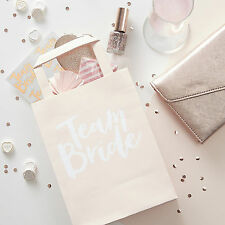 5 x TEAM BRIDE / BRIDE TO BE - HEN PARTY BAGS Hen Night Accessories Vintage