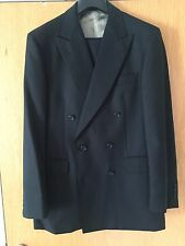 Aquascutum Navy Double Breasted Suit